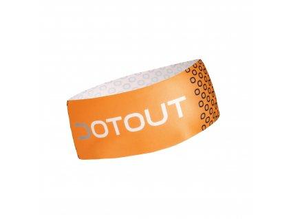 Nákrčník Dotout Essential Headband Fluo Orange A20x810-20f