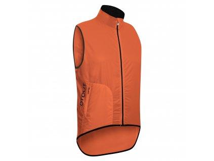 Cyklistická vesta Dotout Tempo Vest - Orange