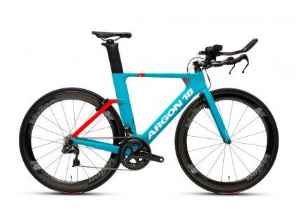 ARGON 18 E117 TRI ULTEGRA Turquoise/Red